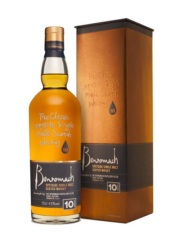 Benromach 10 ans single malt scotch whisky