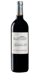 A bottle of wine bordeaux Saint emilion grand cru chateau mangot