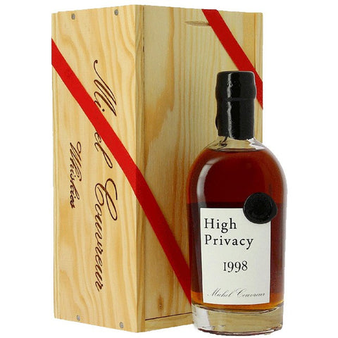 MICHEL COUVREUR HIGH PRIVACY 1998 SINGLE MALT WHISKY 1998 50CL
