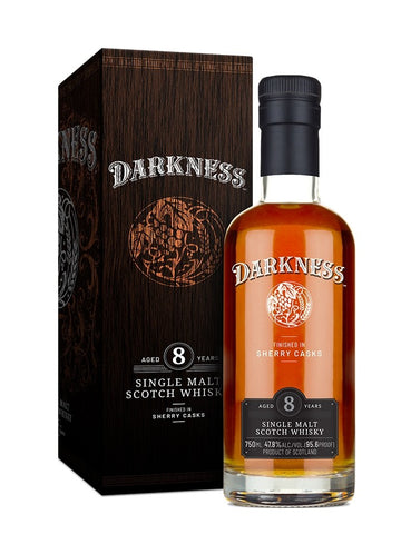 Darkness Whisky 8 ans single malt 47.8%
