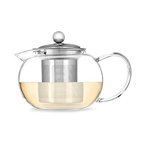 Candace Clear Tea Infuser Pot