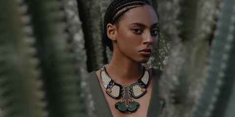 Neo Native collection by Gissa Bicalho at Capo Couture