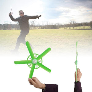 2-PACK LED light fingertip gyro boomerang-Great for kids and adults