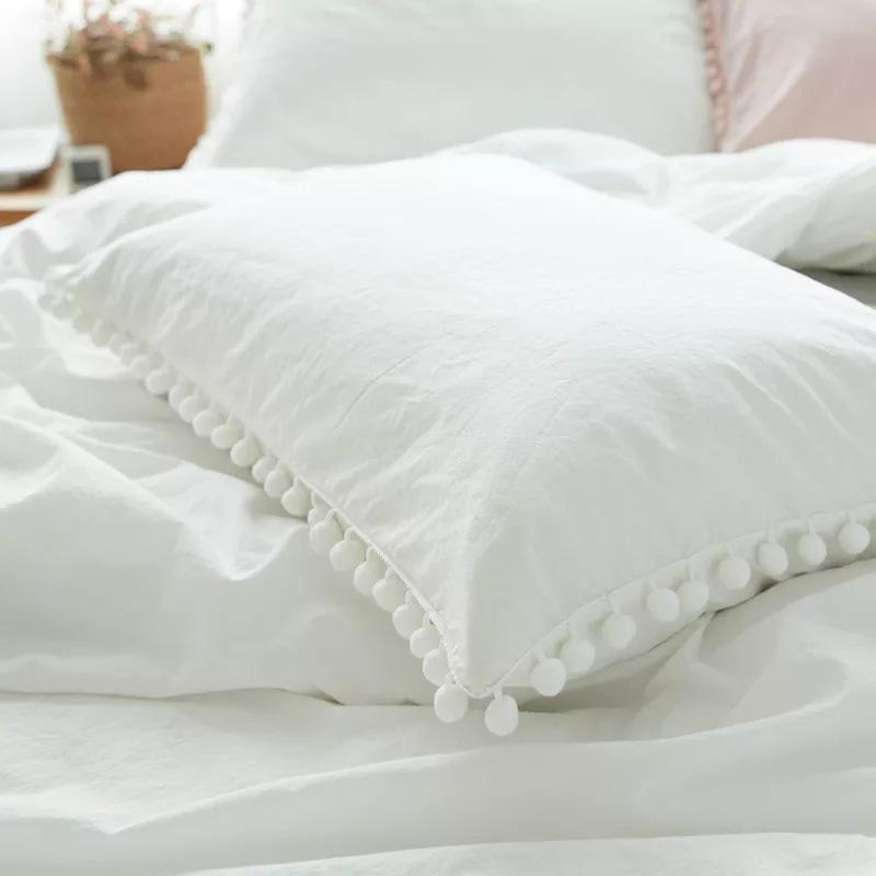 Tassel Bedding Pillow Case
