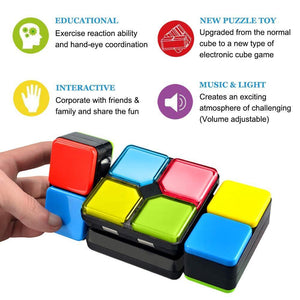 Colorful Electronic Music Magic Cube