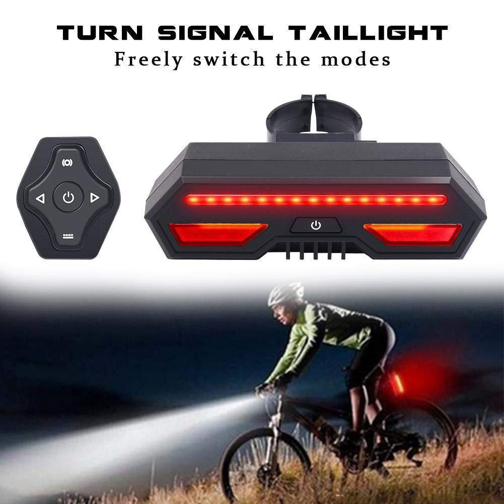 50% OFF-Ultra Bright  USB Rechargeable Bike Turn Signals
