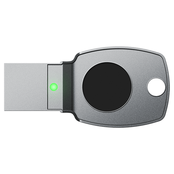 FEITIAN BioPass FIDO2 FIDO U2F Biometric Fingerprint USB-A Security Key (Casing: K24) - FEITIAN Technologies US