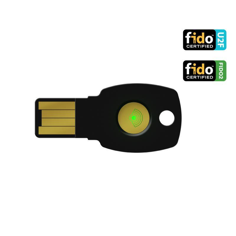 ePass FIDO-NFC USB-A Security Key (K9) with PIV Credentials Support