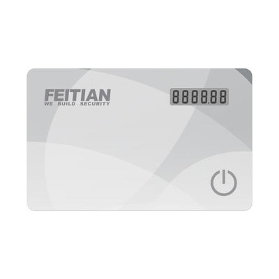 Feitian VC-100E OTP Event-Based 2FA Display Card Token