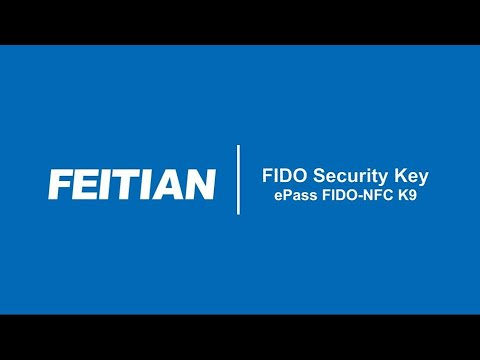 ePass FIDO2 NFC K9 Overview