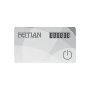 FEITIAN MiniVC-200E OTP Time-Based 2FA Display Card Token - FEITIAN Technologies US