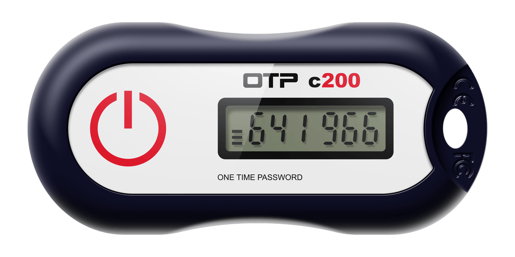 Feitian OTP c200 OATH Time-Based 2FA Token (8 Digit) (60 Second Interval) (Casing: H41)
