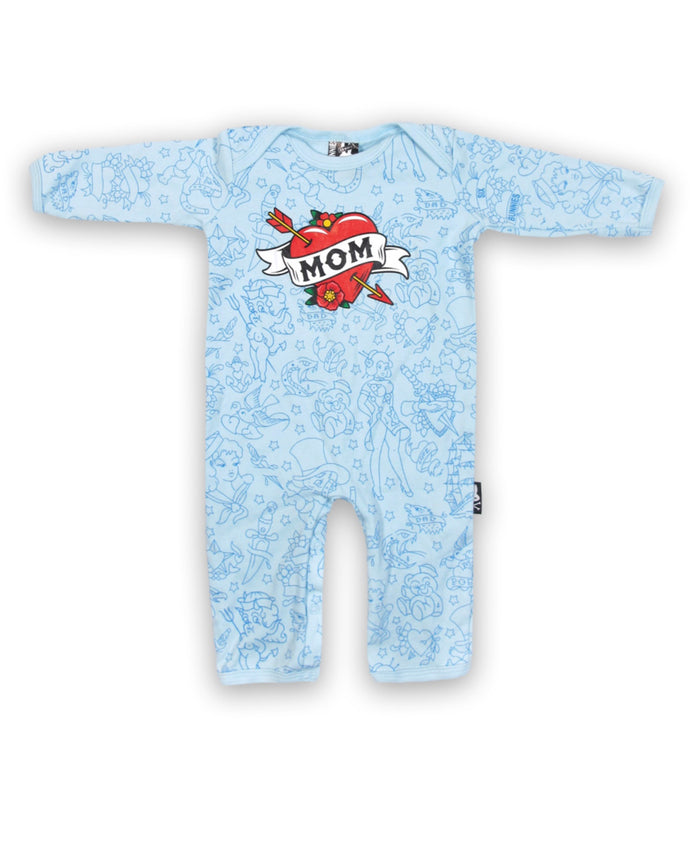 Sixbunnies baby MOM romper