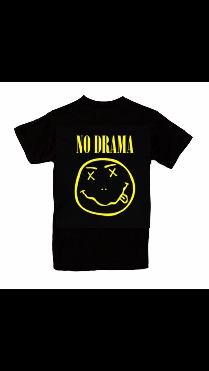 Swag no drama printed tee