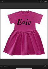Load image into Gallery viewer, Cotton personalised dresses