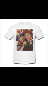 Swag Smash hits Kylie and Jason printed tee