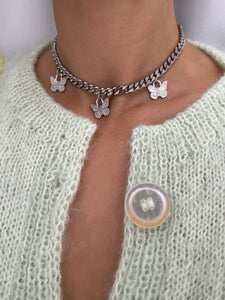 BUTTERFLY CHAIN SILVER