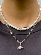 Load image into Gallery viewer, THE PEARLY ANGEL CHAIN SILVER
