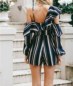 Lily Striped Jumpsuit
