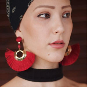 Bohemian Big Earrings