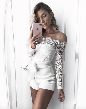 Sweet Off Shoulder Jumpsuit