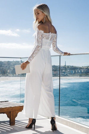 Floral Lace Summer Jumpsuit