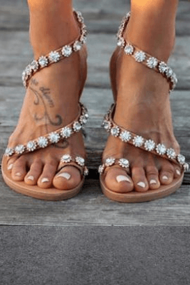 Bling Crystal Sandals