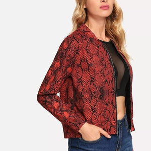 Red Valentine Casual Jacket
