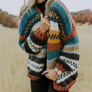 Winter Striped Sweater
