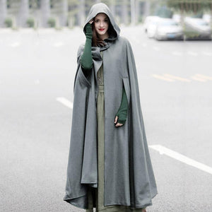 Amanda Hooded Cape