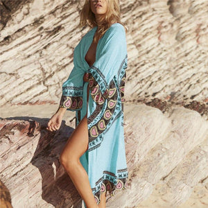 Zaida Maxi Cover-up
