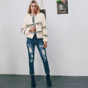 Lucy Tassel Fur Jacket
