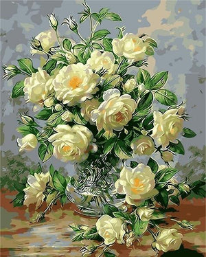 Painting By Numbers Flowers