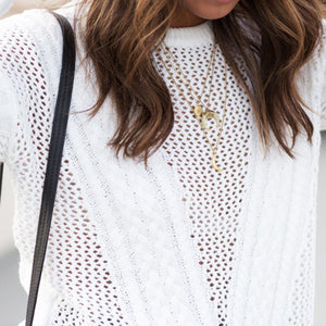 Cut Out Detail Sweater