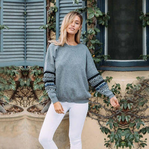 Tassel and Frill Sweatshirt