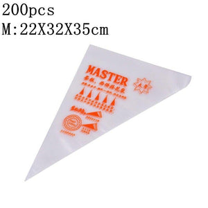 Disposable Pastry Bags Cake Decoration