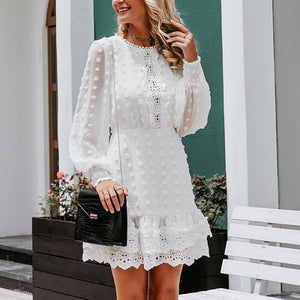 Luxxe Lace Party Dress