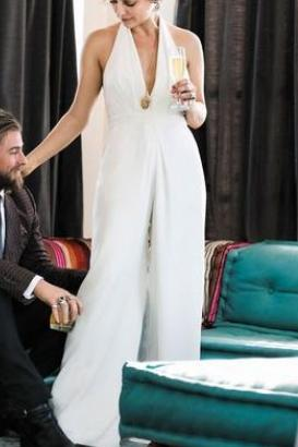 V Neck  Elegant Jumpsuit