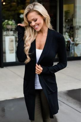 Midnight Spice Cardigan