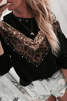 Gorgeous Leopard Sweatshirt