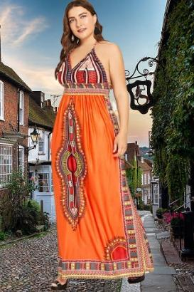 Mizzy Boho Maxi Dress