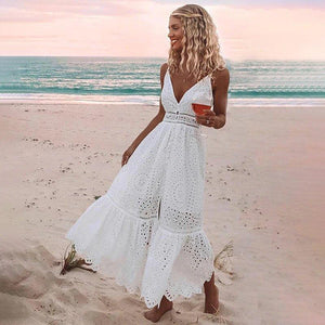 Pearl Hollow Maxi Dress