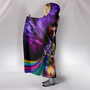 Lost In Galaxy Hooded Blanket