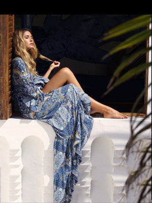 Mystic Split Maxi Dress