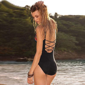 Vintage Triangle One Piece