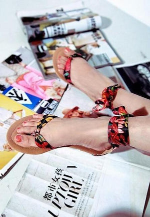 Tropical Ethnic Bohemian Sandals