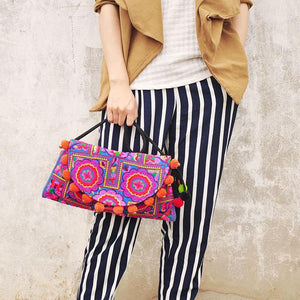 Ethnic Embroidery Boho Bag