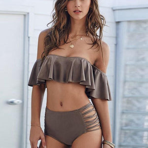 Simply Hot Ruffle Two Piece