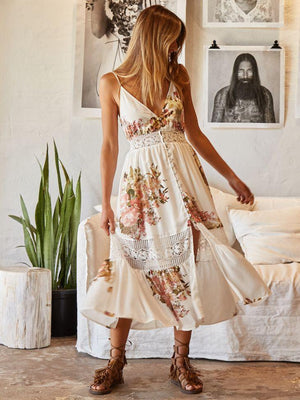 Printed Glamour Dress