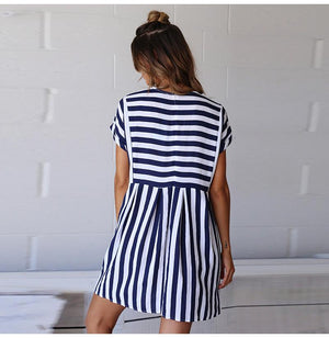 Lady Striped Dress